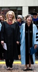 Meryl Streep and Anna Quindlen