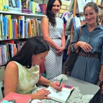 Egan signing books at Watchung Booksellers