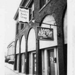 The first Borders brothers store in Ann Arbor, Michigan, 1971